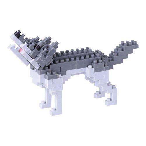 Nanoblock Gray Wolf