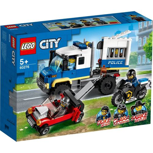 Lego City Police Prisoner Transport 60276