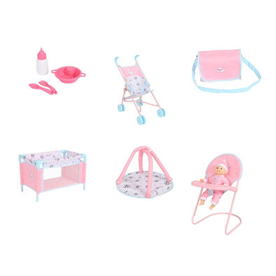 You & Me Babyboo Doll Bundle Set
