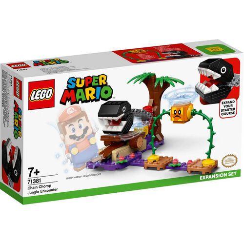 LEGO Super Mario Chain Chomp Jungle Encounter Expansion Set 71381