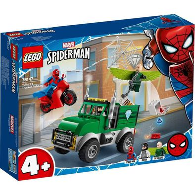 LEGO Marvel Spider-Man Vulture's Trucker Robbery 76147