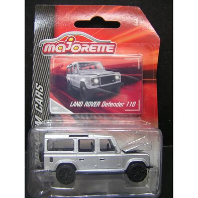 Majorette Premium Land Rover Defender 110 (Silver)