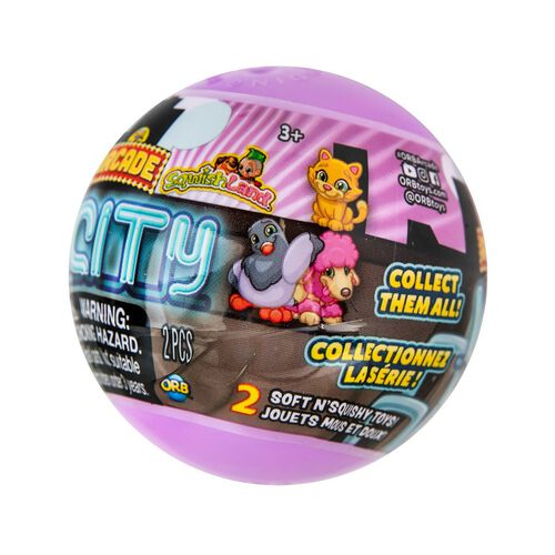 Orb Arcade Capsules Sqwishland City Collection