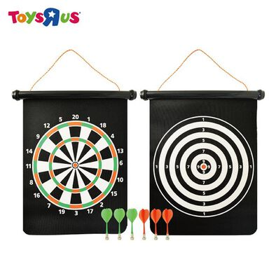 Pavilion Magnetic Dart Board Roll-Up