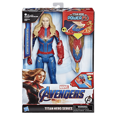 Marvel Avengers Titan Hero Series Titan Hero Power FX Captain Marvel