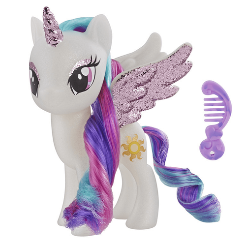 My Little Pony Princess Celestia Sparkling 6 Inch Figure