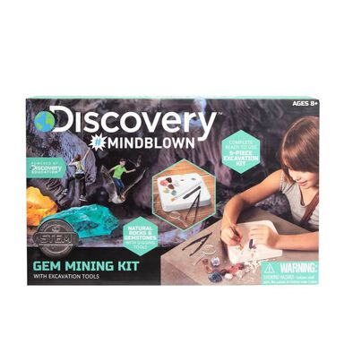 Discovery Mindblown Gem Mining Kit