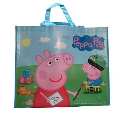 "Toys""R""Us Peppa Pig Reusable Tote Bag"