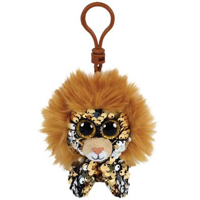 Ty Ty Flippables Regal Lion Sequin Clip
