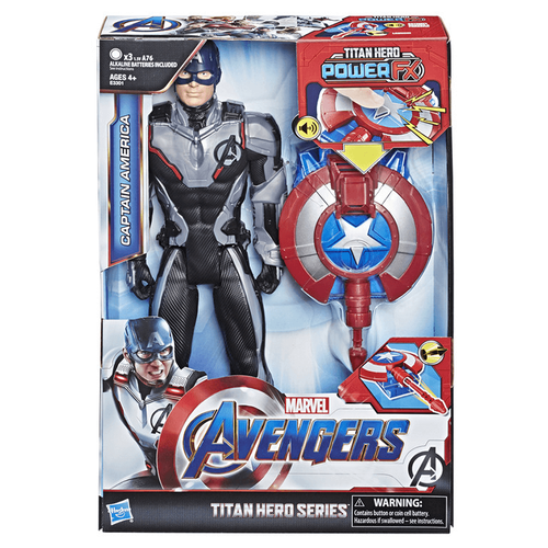 Marvel Avengers Titan Hero Series Titan Hero Power FX Captain America