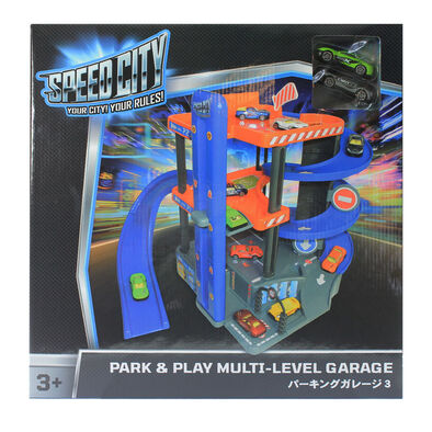 Speed City Park & Play Multi-Level Garage