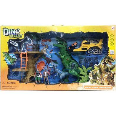 Dino Valley Giant T-Rex Tree House