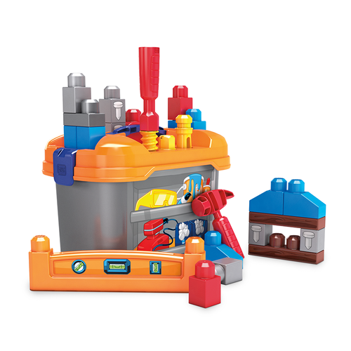 Mega Bloks Lil' Building Workbench