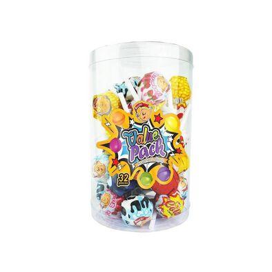 Beardy Value Pack Lollipop 32 Pieces