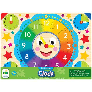 Universe of Imagination Lift And Learn Clock Puzzle