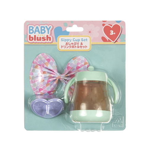 Baby Blush Sippy Cup Set