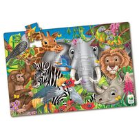 The Learning Journey Jumbo Floor Puzzle Animals Of The World