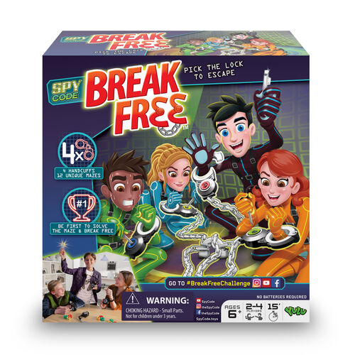 Spy Code Break Free