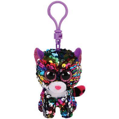 Ty Flippables Dotty Rainbow Leopard Sequin Clip