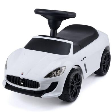 Maserati Grancabrio MC Ride On Car (White)