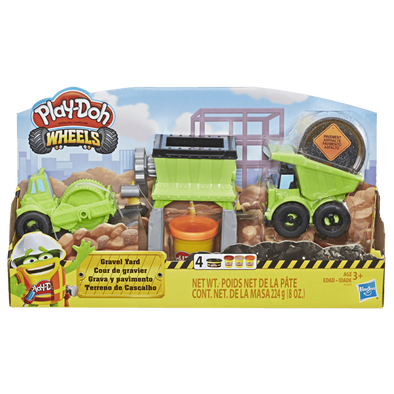Play-Doh Wheels Gravel Yard Construction Toy