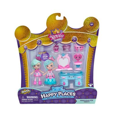Shopkins Happy Places Fabulous Fox Vanity