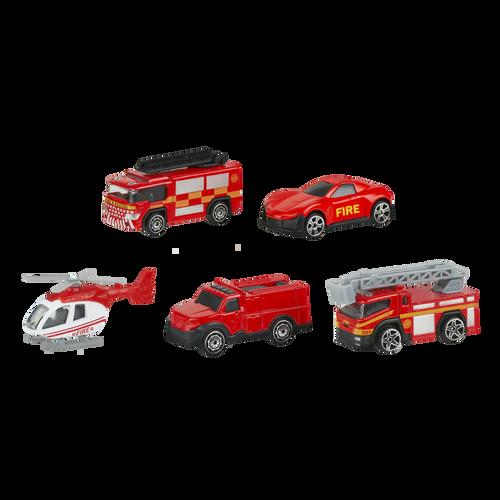 Speed City 5 Pack City Die-cast vehicles