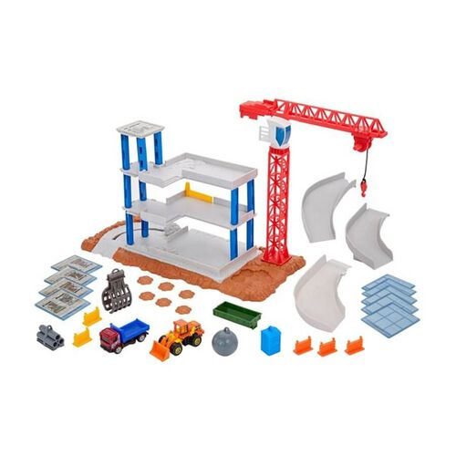 Matchbox Downtown Demolition Playset
