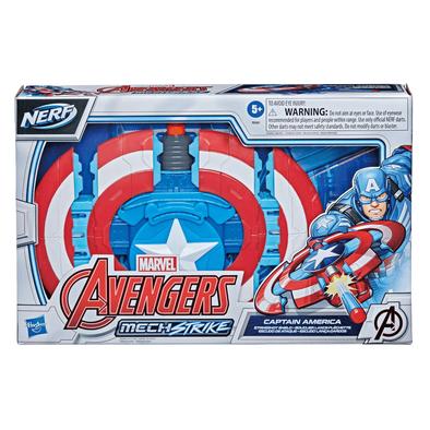 Marvel Avengers Mech Strike Captain America Strikeshot Shield