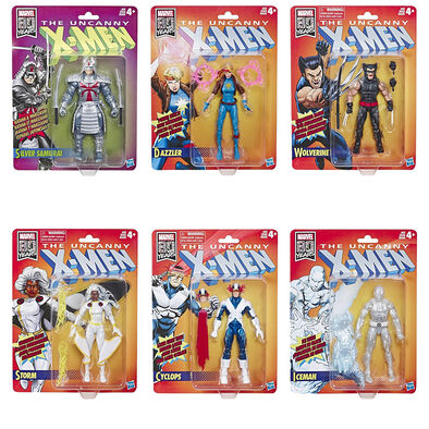 Marvel 80th Anniversary Legends Uncanny 6 Inch Figure Dazzler - Assorted