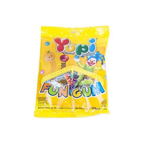 Yupi Gummy Candies - Fun Gum 120G