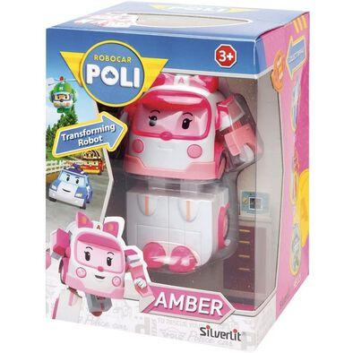 Robocar Poli Transforming Robot Amber