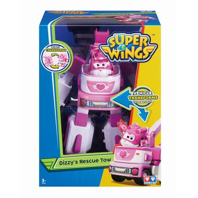 Super Wings Transforming Vehicle Dizzy's Rescue Tow