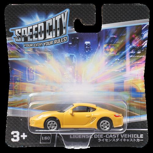 Speed City License Die-cast vehicle - Assorted