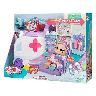 Kindi Kids S3 Amulance Playset