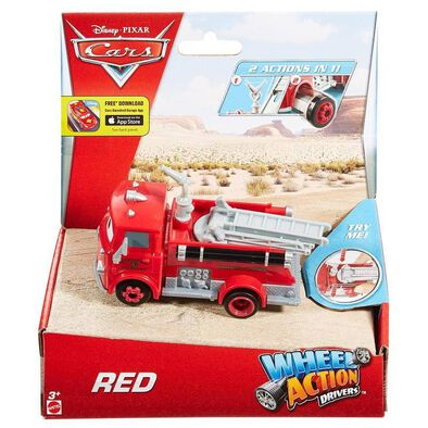 Disney Pixar Cars Large Wheel Action Drivers - Assorted