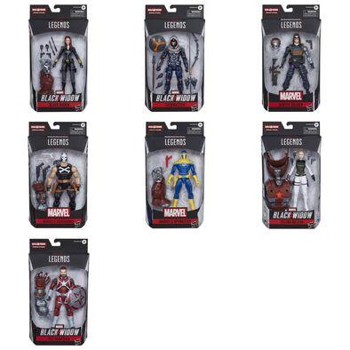 Marvel Black Widow Legends Series Figure Build-A-Figure Crimson Dynamo - Assorted