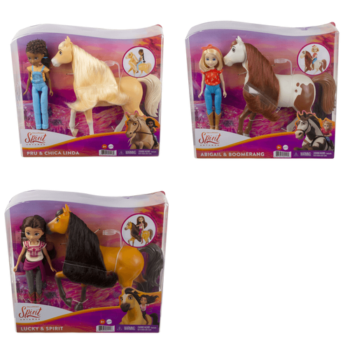 Spirit Core Doll And Horse - Assorted