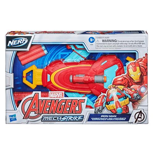 Marvel Avengers Mech Strike Iron Man Strikeshot Gauntlet