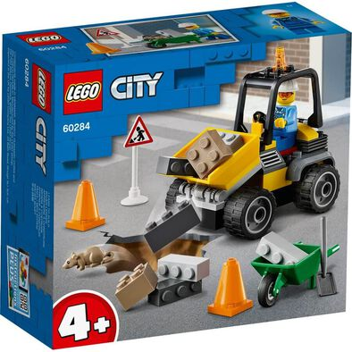 Lego City Great Vehicles Roadwork Truck 60284