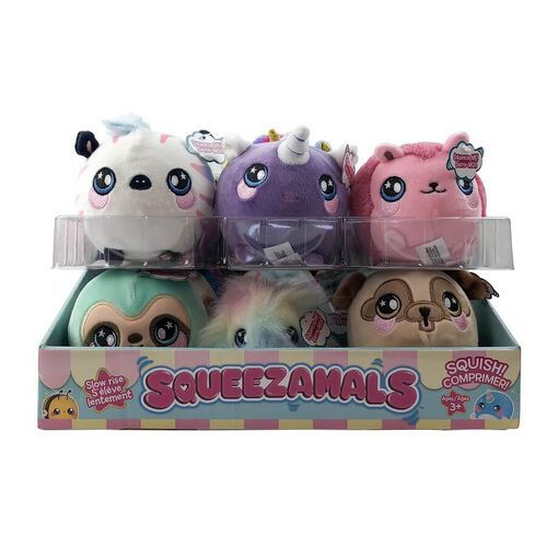Squeezamals 3.5 Inch Soft Toy Season 2