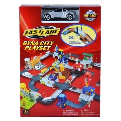 Fast Lane Dyna City Playset - Assorted