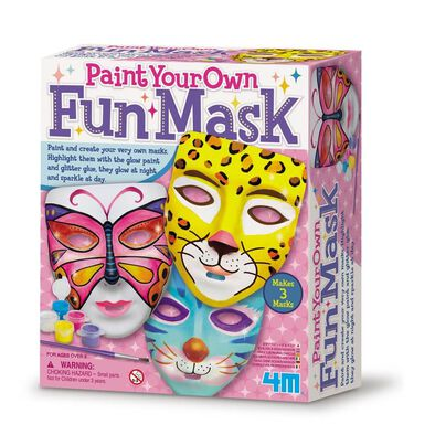 4M Paint Your Own Fun Mask