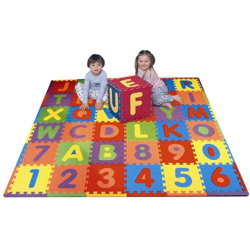 Universe of Imagination Imaginarium Alphabet And Numbers Playmat