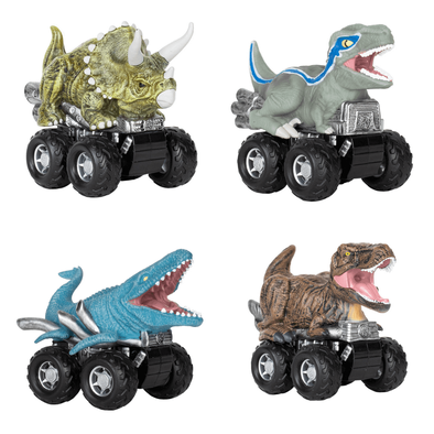 Jurassic World Zoom Riders - Assorted