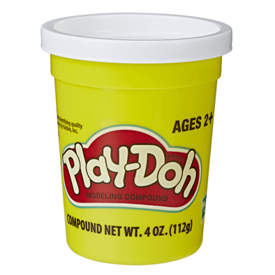 Play-Doh White