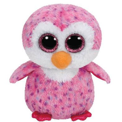 Ty Beanie Boos 6 Inch Glider The Pink Penguin