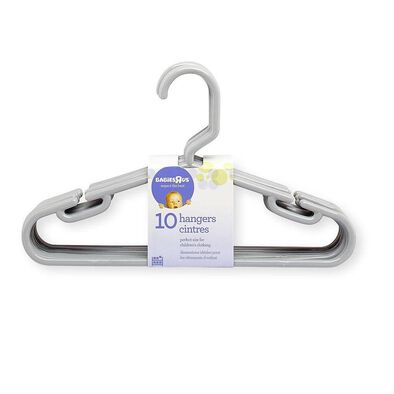 "Babies""R""Us 10 Pack Hangers Gray"