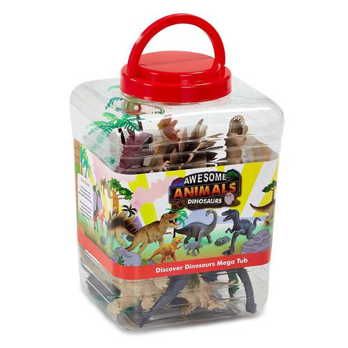Awesome Animals Discover the Dinosaurs Jumbo Tub
