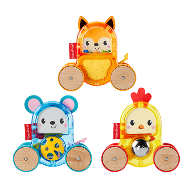 Fisher-Price Rollin' Surprise Animals